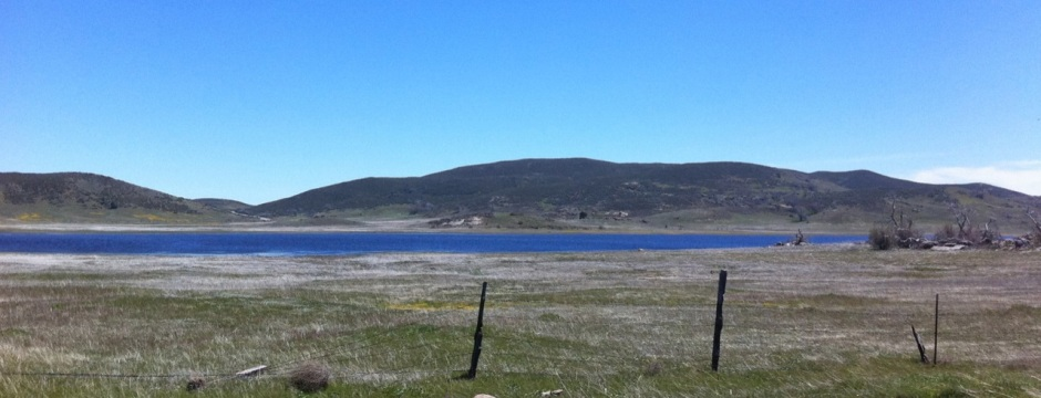 Lake Cuyamaca - on the OTHER side of the mountain, directly west of Blair Valley