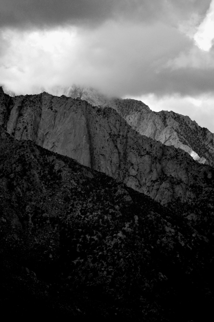 Ridgelines of Mt Whitney