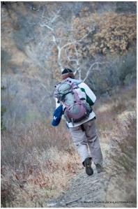 Best hiking buddy, en route to Red Rock Peak